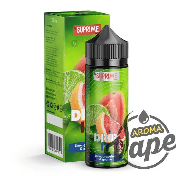 Жидкость Drip It Salt - Lime, grapefruit and guava 120 мл 3 мг